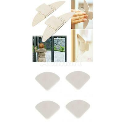 4x Table Edge Corner Cushions+Proofing Locks Guard Protector for Baby Kid Safety