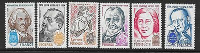 FRANCE 1979 Red Cross Fund  set of 6 vf MINT never hinged SG 2293 - 2298