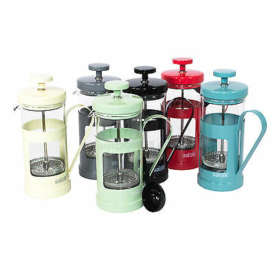 350ml La Cafetiere Monaco Stainless Steel French Press Coffee Pot Jug Boxed