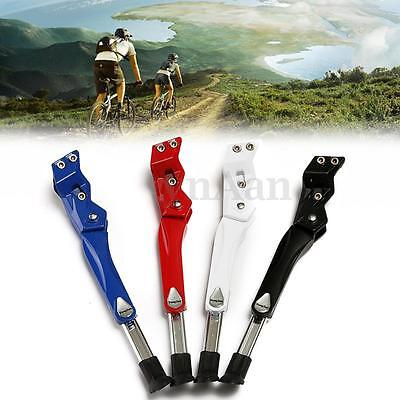 Adjustable Rubber Foot Mountain Bike Bicycle Prop Side Rear Kick Stand Kickstand