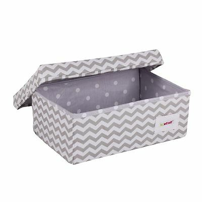 Minene Baby storage boxes within wardrobes, shelves, changing tables Grey