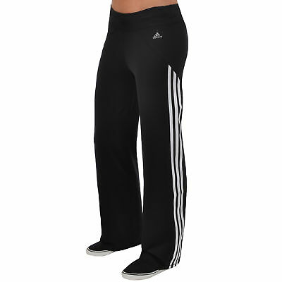 adidas Performance Womens Climacool Running Gym Flare Pants Bottoms - 4-6