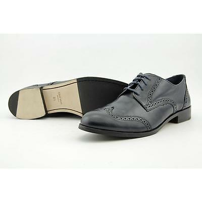 Cole Haan Jagger Wing Oxford Women US 8.5 Blue Wingtip Oxford Blemish  18814
