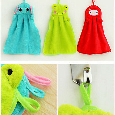 Lovely Household Cleaning Cloth Animal Bathroom Quick-dry Hand Towel Wipe Towel