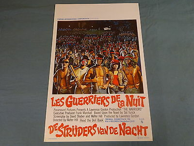 Original Movie Poster / Affiche - The Warriors