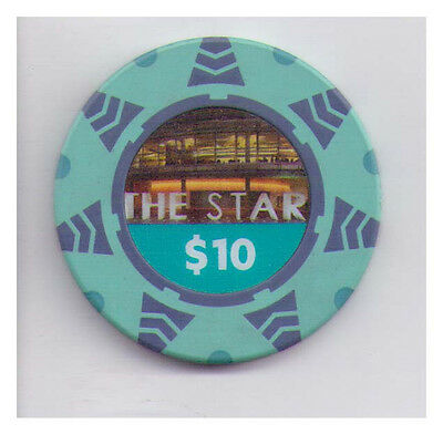 $10 The Star -casino chip