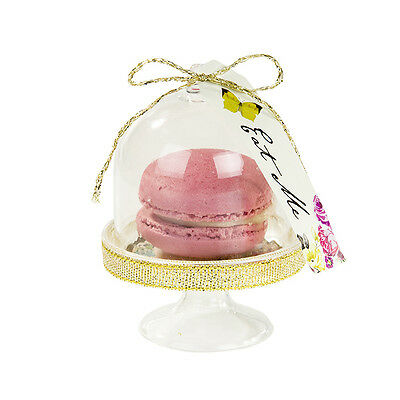 6 Truly Alice In Wonderland Tea Party Mini Cake Domes Favour Wedding Celebration