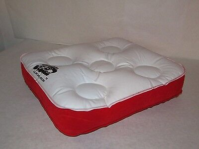 Vintage 1950's Inflatable Pillow *Still Sealed* Cushion Inflate a Bed
