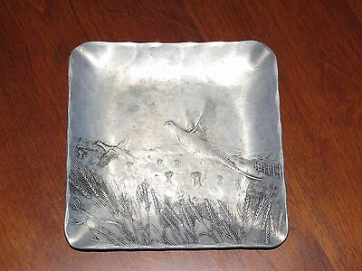 Wendell August Forge Hand Made For Kaiser Alloy Steels Aluminum Pheasant Tray