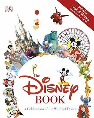 The Disney Book: A Celebration of the World of Disney by DK Book The Cheap Fast