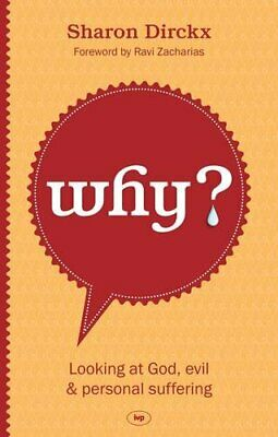 Why? by Sharon Dirckx Book The Cheap Fast Free Post