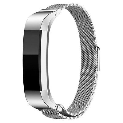 Milanese Loop Magnetic Watch Band Strap for Fitbit Alta Fitness Activtity Tracke