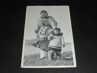 Eskimo Mother and Child Postcard