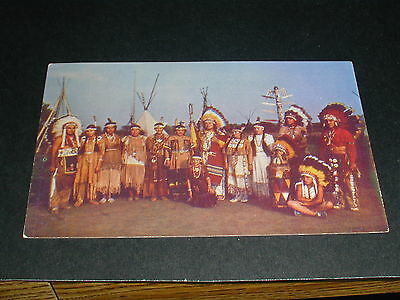 Caughnawaga Indian Reserve Canada Postcard