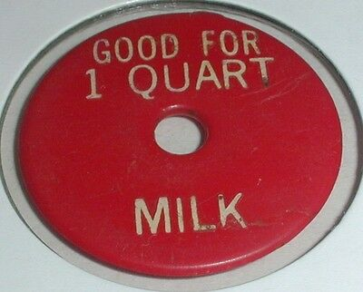 Good For 1 Quart Milk / Blank Token