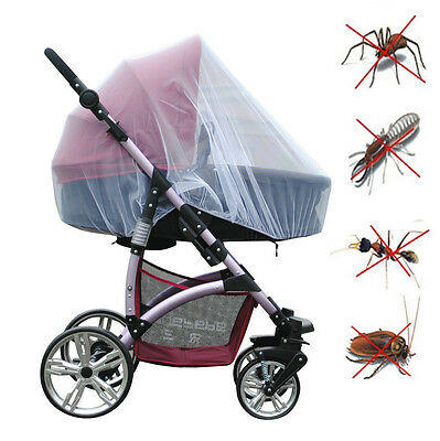 Fashion Outdoor Mosquito Insect Cover Net For Infant Baby Stroller Pushchair
