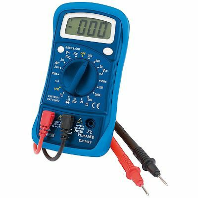 Draper Digital Electricians Test Probe Diagnostic 19 Function Multimeter - 54770