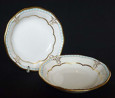 2 x Royal Crown Derby LOMBARDY Dishes - 1st Quality