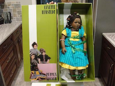 """NEW IN BOX - Annette Himstedt Ayoka 26"""" African American Doll"""