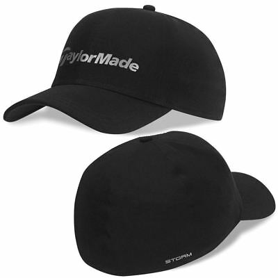 """""""New 2016"""" TaylorMade Storm Hat Water Resistant Stretch-Fit Men's Golf Cap"""