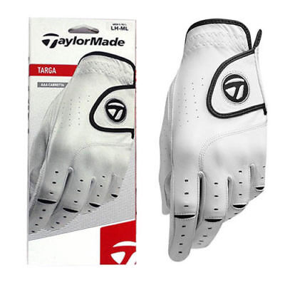 "TAYLORMADE TARGA AAA CABRETTA LEATHER MENS GOLF GLOVE Tour Pro Gloves ""NEW 2017"""