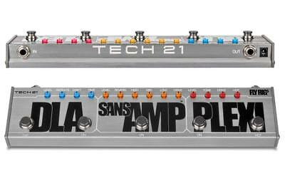 Tech 21 Sans Amp  Fly Rig 5 Multi-Effects Guitar Pedal