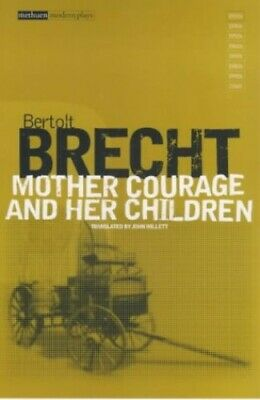 Mother Courage and her Children by Bertolt Brecht Paperback Book The Cheap Fast