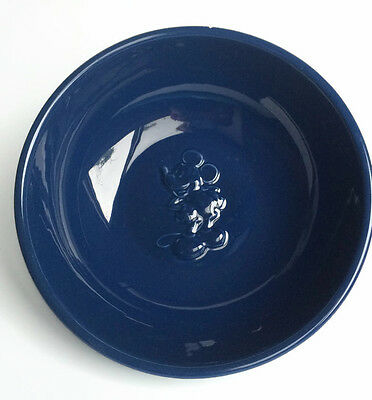 """Disney M. Mickey Mouse Dinnerware Collection """"Sorcerer Blue"""" Large Serving Bowl"""