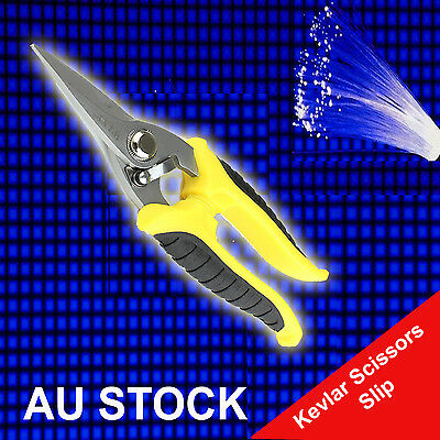 Stainless Steel Kevlar Scissors Slip Fiber Optic Cutter Multipurpose Scissor