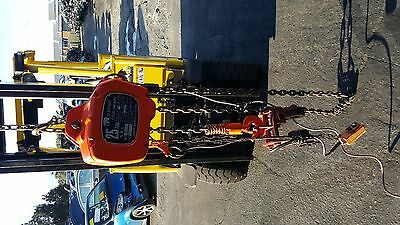 Elephant Electric Chain Hoist/ Block 2.5 Ton 3 Phase One Speed