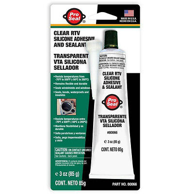 Pro Seal Clear Rtv Silicone Instant Gasket Waterproof Seal Automotive Use Car En