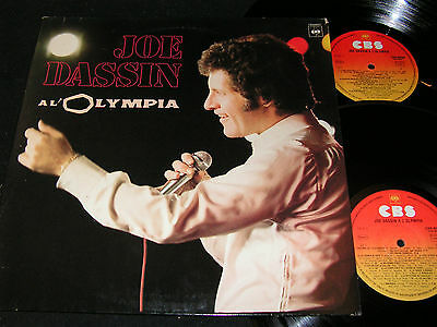 JOE DASSIN A L'Olympia / French DLP 1974 CBS 88027