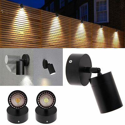 Modern Outdoor Garden Wall Down Light Stainless Steel Adjustable LED Sconce Lamp