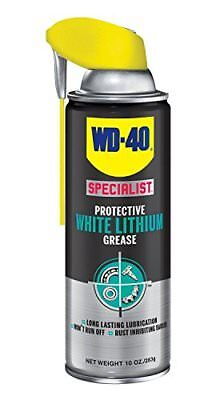 WD-40 300243 Specialist White Lithium Grease Spray 10 oz (Pack of 1)