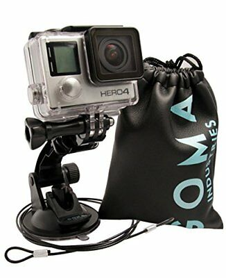 GOMA Industries Suction Cup Car Mount for GoPro Hero5// Session Hero4 Hero3