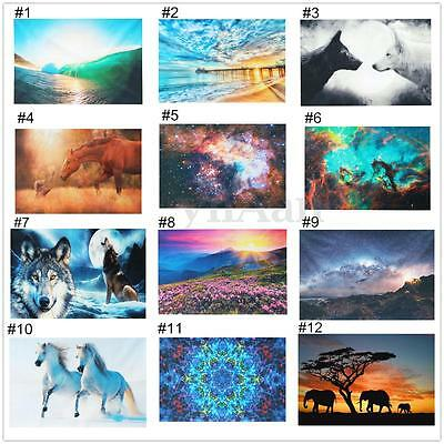 35 Style Psychedelic Art Silk Poster Fabric Cloth Print Home Wall Decor Gift NEW