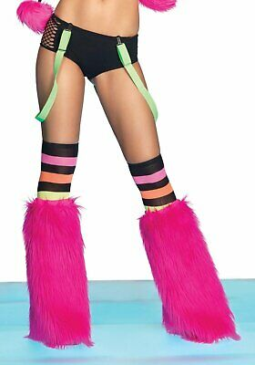 Leg Avenue A2690 Neon Color Suspenders