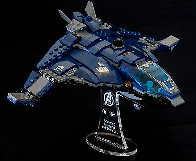 Marvel Lego 76051 Quinjet - custom display stand only