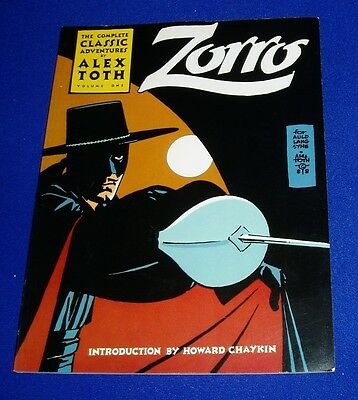 Alex Toth:The Complete Classic Adventures of Zorro 1. First Edition (1988). VFN.
