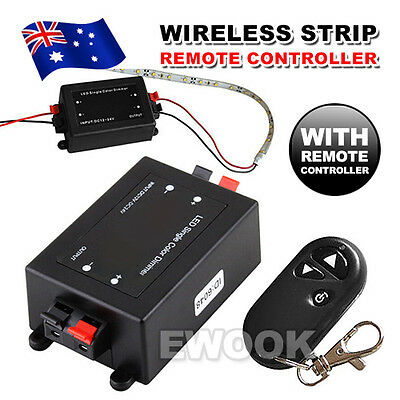 OZ for Camper 3528 5050 Wireless Remote LED Strip Light Dimmer Switch on/off