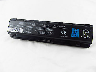 Part Model No. PA5109U-1BRS Battery For Toshiba Satellite C50-A C50D-A Laptop