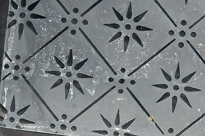 10 Frosted Gothic Revival Victorian Aesthetic SQUARE Glass Panes Window Diaper