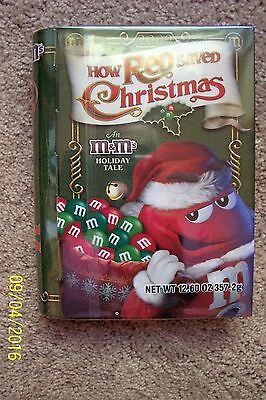 M & M HOW RED SAVED CHRISTMAS HOLIDAY TALE From 2009 Collectible - NEW
