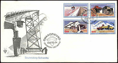 South West Africa 1981 Salt Industry FDC First Day Cover #C22079