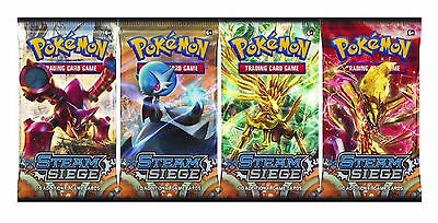 Pokemon XY Steam Siege 1 Booster New Sealed TCG
