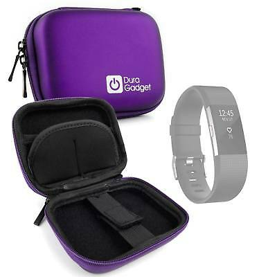 Purple Hard Shell EVA Case For The Fitbit Charge 2   Fitbit ACE