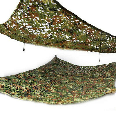 2016 Useful Hunting Woodland leaves Camouflage Camo Net Netting Camping Military
