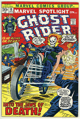 Marvel Spotlight #10 F- 5.5 Ghost Rider, Witch Woman Cameo