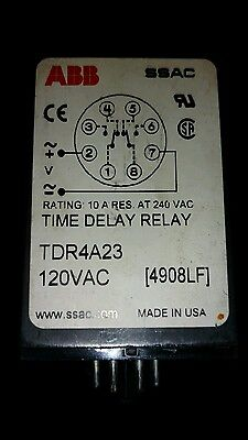 *NEW* ABB Time Delay Relay TDR4A23