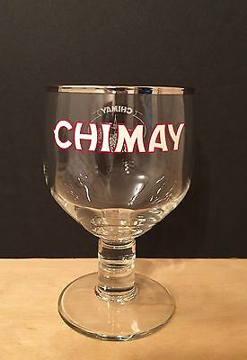 Chimay Belgian Trappist 150th Anniversary Glass Chalice - Brand New